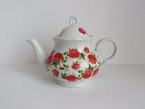 vintage porcelain teapot