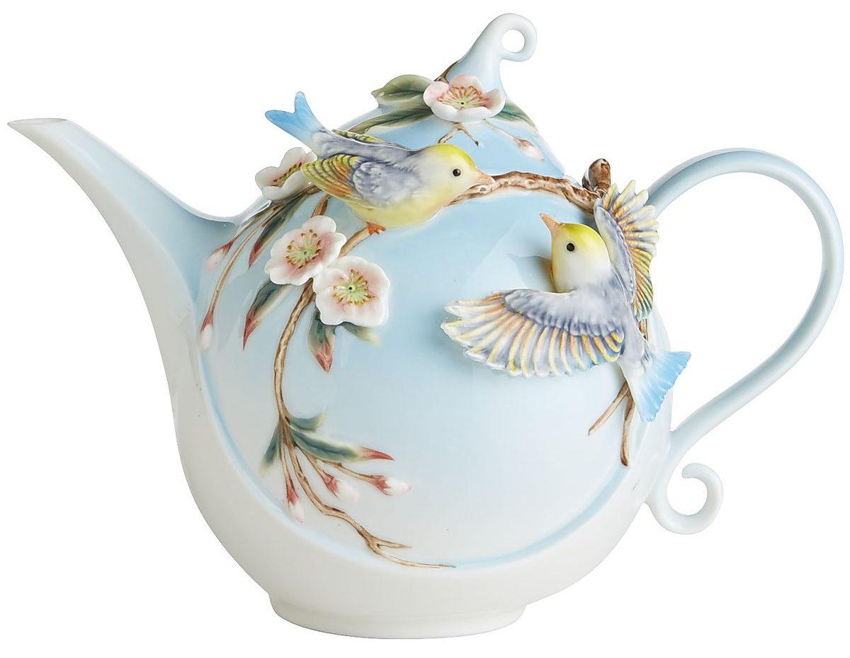 Pier 1 Bird Teapot