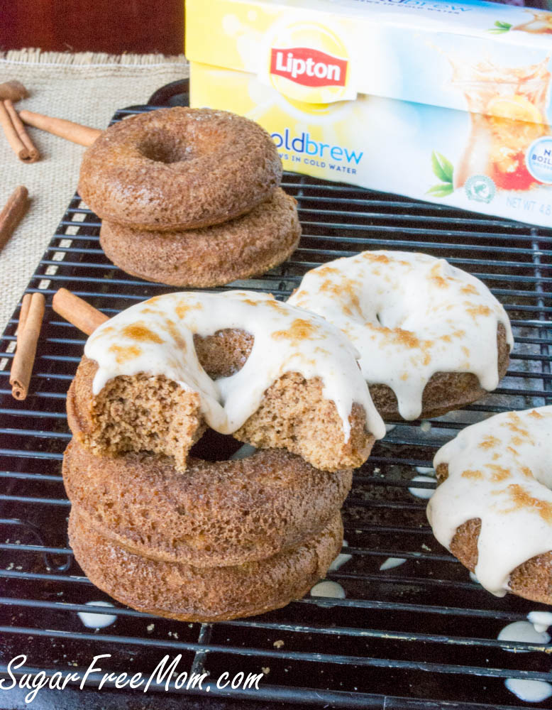 Sugar-Free Paleo Maple Tea Donuts