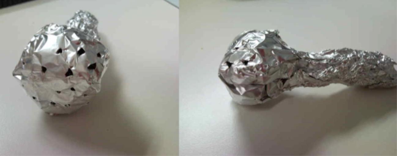 Tin Foil Infuser