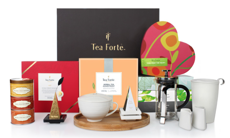 Tea Forte tea set